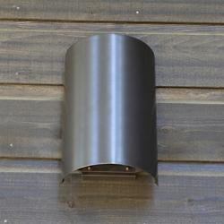 Half Cylinder Outdoor Wall Sconce