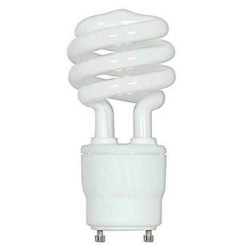 26w 120v T3 Gu24 Mini Spiral Cfl Bulb 2 Pack By Satco Lighting At Lumens