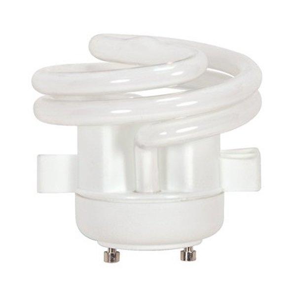 13W 120V T2 GU24 Spiral Squat CFL Bulb 2-Pack