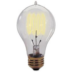 40W 120V A19 E26 Quad Loop Edison Bulb 2-Pack