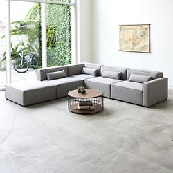 Mix Modular 5 Piece Sectional - Right Facing