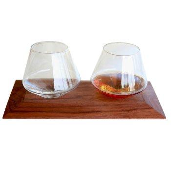 Cupa-Vino Set with Tray