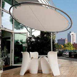 Eclipse Round Umbrella and Base