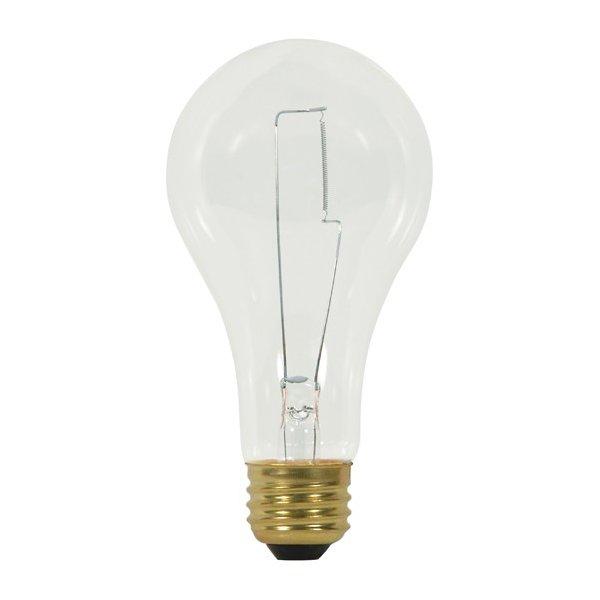 150W 120V A21 E26 Clear Bulb 2-Pack