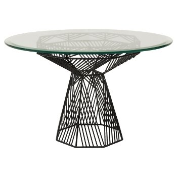 Switch Table/Stool with Glass Top