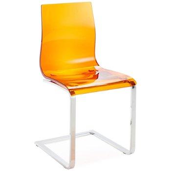 Shown in Transparent Orange