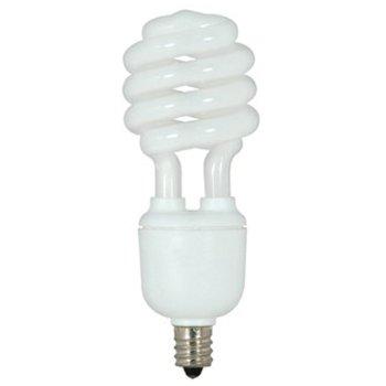 13W 120V T2 E12 Mini Spiral CFL Bulb (2-Pack)