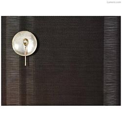 Tuxedo Stripe Sable Set of 4 Tablemats