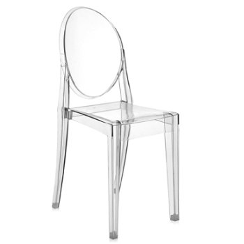 Ordinaire Victoria Ghost Chair Set Of 2