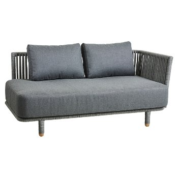 Moments 2 Seater Sofa, Left with Cushions