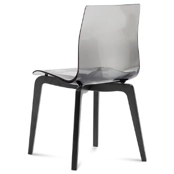 Shown in Transparent Smoke, Anthracite finish