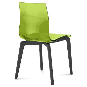 Shown in Transparent Green, Anthracite finish