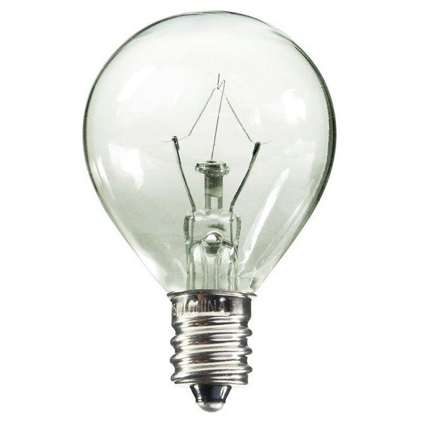 40W 120V G11 E12 Krypton Clear Bulb