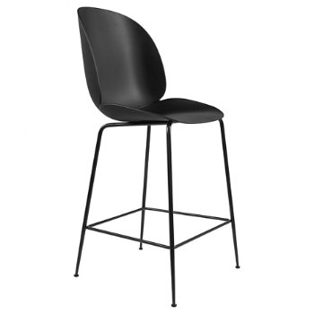 Shown in Black, Black base finish, Bar Height