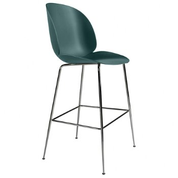 Shown in Green, Black Chrome base finish, Bar Height