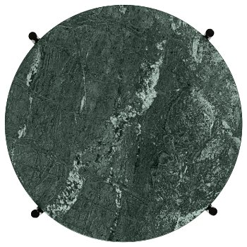 Shown in Green Marble Top finish, Black Base finish