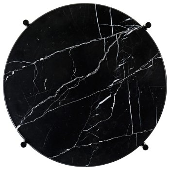 Shown in Black Marble Top finish, Black Base finish