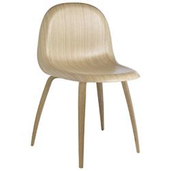 3D Dining Chair Wood Base