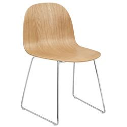 2D Dining Chair Sledge Base