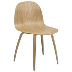2D Dining Chair Wood Base
