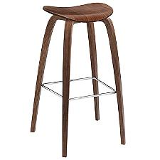 2D Dining Stool Wood Base