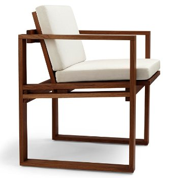 BK10 Dining Chair with Cushion