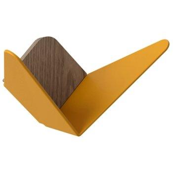 Shown in Saffron Yellow, Mini size
