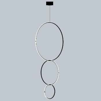 Arrangements Round Large Round Medium Three Element Suspensi