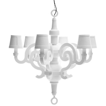 Paper Chandelier with Shades