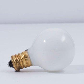 10W 130V G9 E12 Matte White Bulb (6-Pack)
