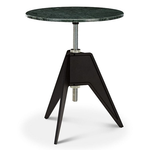 Screw Base Marble Round Cafe Table