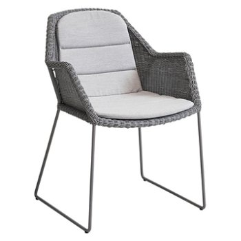 Breeze Dining Chair with Breeze Dining Chair Cushion
