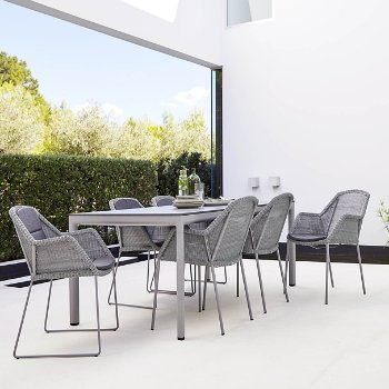 Breeze Dining Chair, In use