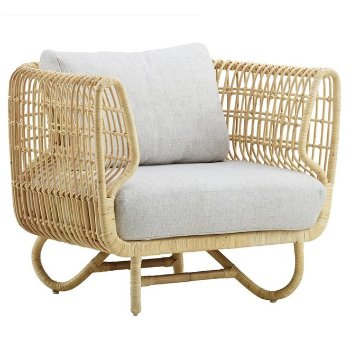 Nest Club Chair with Nest Cushion Set