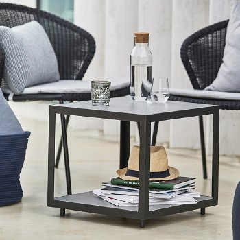 Level Side Table with Ceramic Top