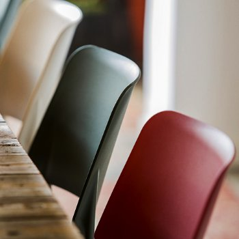 Belloch Stacking Chair, Detail view