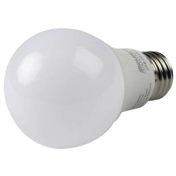 9W 120V A19 E26 LED Frosted Bulb (2-pack)