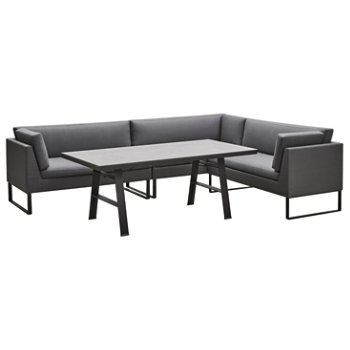Flex Table pictured with Flex 2 Seater Sofa Modules (sold separately)