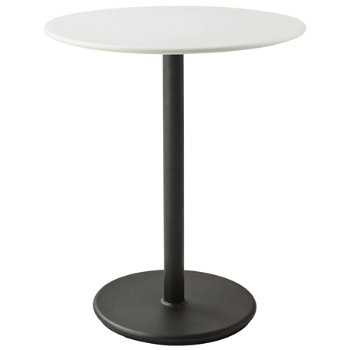 Shown in Lava Grey base with White top, 24 inch