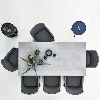 Shown in Concrete Grey Ceramic top