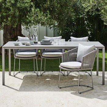 Shown in Light Grey base, Concrete Grey Ceramic top, in use