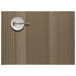 Mixed Weave Gold Set of 4 Placemats