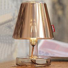 Transloetje Lamp With Metallicappie Lamp Shade