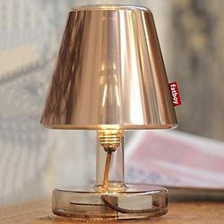 Fatboy Transloetje with Metallicappie Lamp Shade