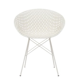 Shown in White Seat with White Legs finish