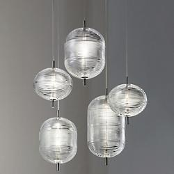 Jefferson LED Multi-Light Pendant
