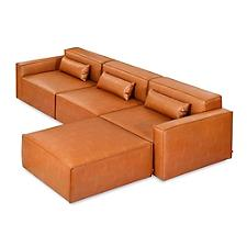 Mix Modular 4 Piece Sectional - Vegan Appleskin