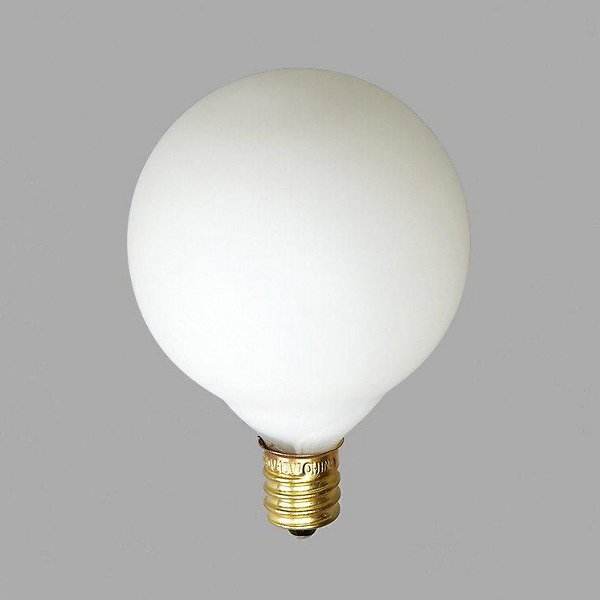 15W 120V G16 E12 White Bulb  (6-Pack)
