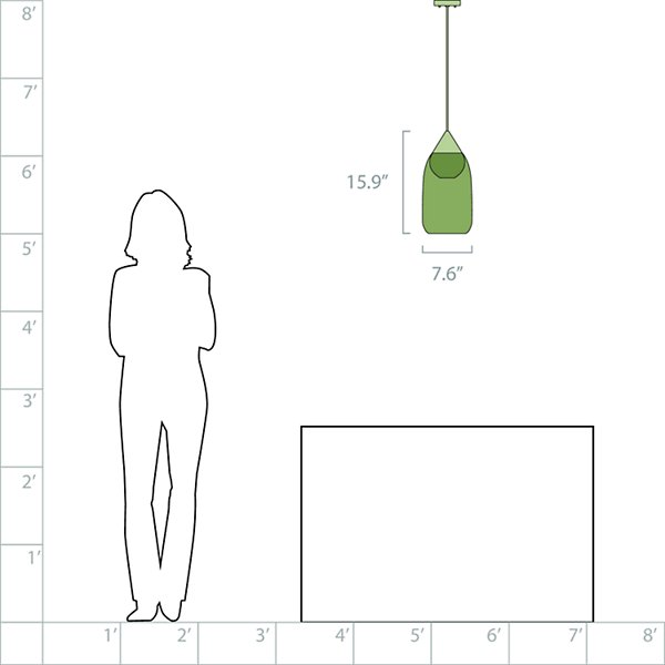 Liuku Drop Mini Pendant