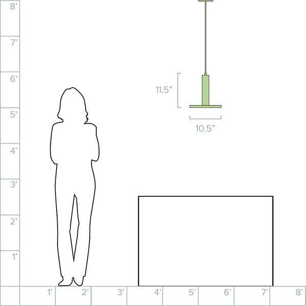 Trim LED Pendant